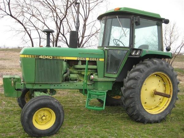 John Deere 4040 And 4240 Tractor Service Repair Techni