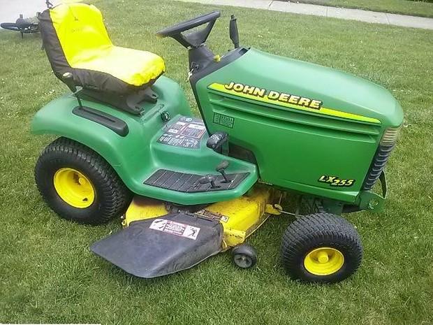 John Deere LX255, LX266, LX277, LX277AWS, LX279 and LX288 Lawn Tractors Technical Manual