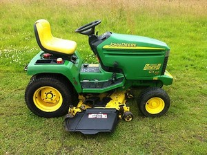 John Deere GX355 Lawn and Garden Tractors Service Repair Technical Manual