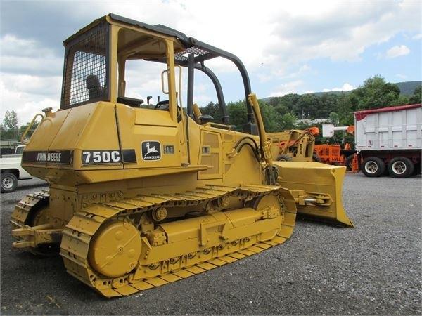 John Deere 750C,850C Crawler Dozer Tractor Service Repair Technical Manual[TM1589 10AUG04]