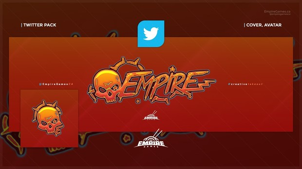 Twitter - Candycore (Cover/Avatar) .PSD