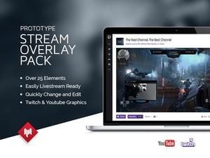 Livestream Overlay Pack | Prototype