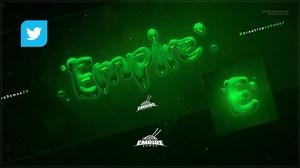 Twitter - Slime (Cover/Avatar) PSD