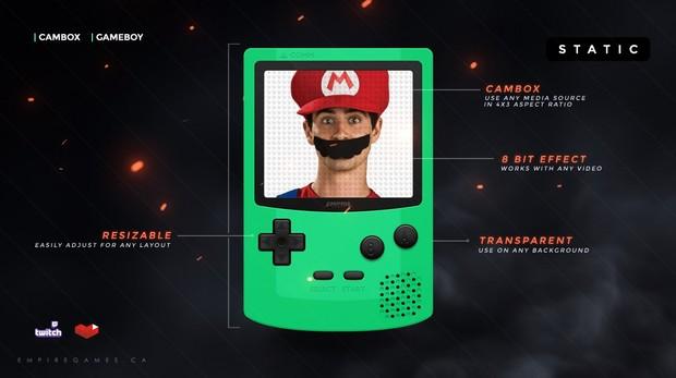 CamBox / FaceCam | Gameboy (Green)