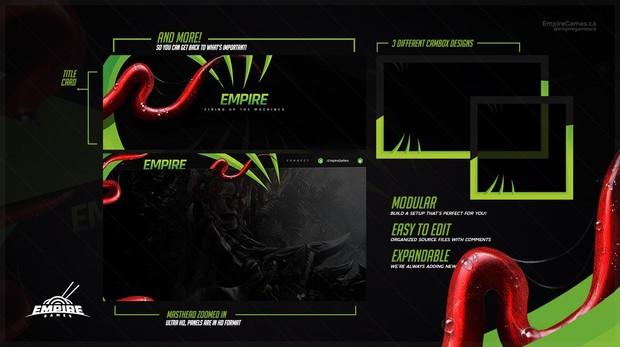Stream Overlay | Venom V1