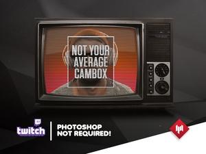 Cambox / FaceCam | Retro Old TV