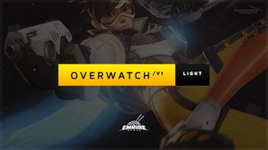 Livestream Overlay | Overwatch V1 /Light