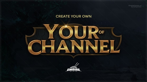 League of Legends | Logo Creator (PSD)