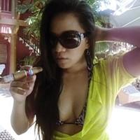 Sensual Poolside Cigar