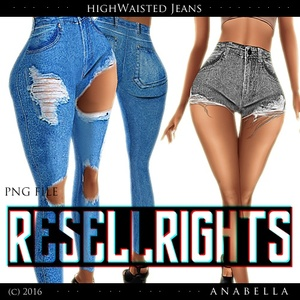 w/ RESELLS// HW Jeans 2 syles. sis3d meshes