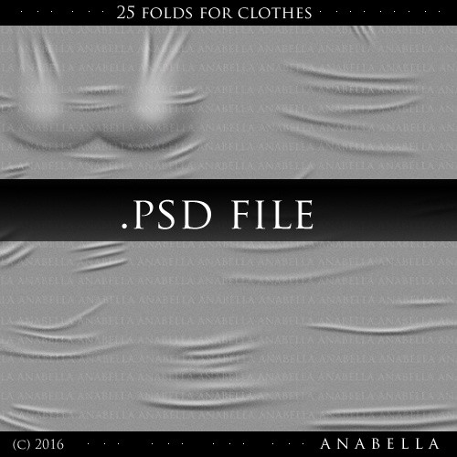 w/ resells /// 25 FOLDS FOR CLOTHES //BIG TEMPLATE