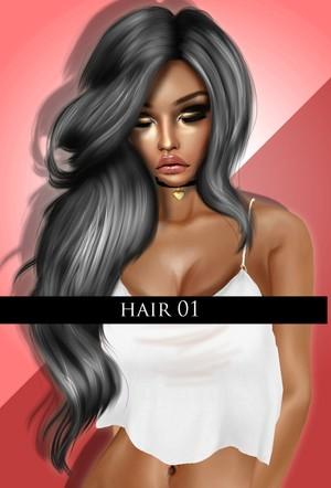 Hair 01  ( FREEBIE ) MERRY XMAS.