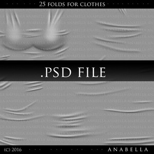 25 FOLDS FOR CLOTHES //BIG TEMPLATE
