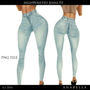 // HW Jeans 01 . sis3d meshes