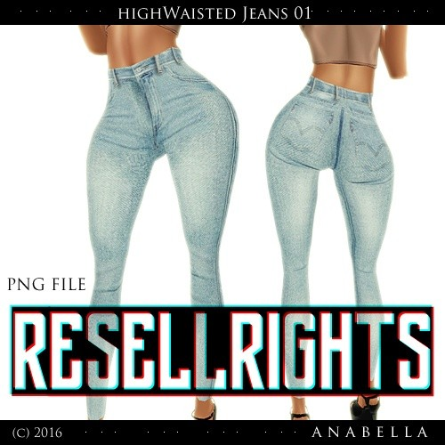 w/ RESELLS// HW Jeans 01 . sis3d meshes