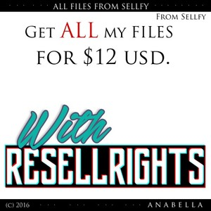 // GET 10 SELLFY FILES WITH RESELLSRIGHTS! PRODUCTS in description.