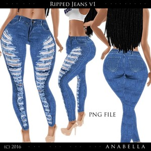 // Ripped Jeans vol.1 .sis3d meshes