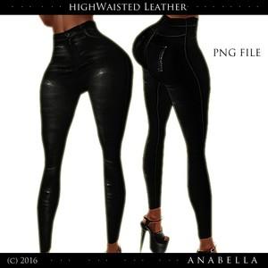 // HW Leather pants .sis3d