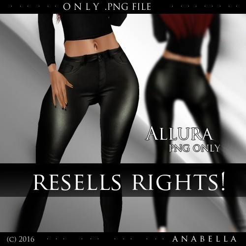 // Allura pants resells rights .sis3d