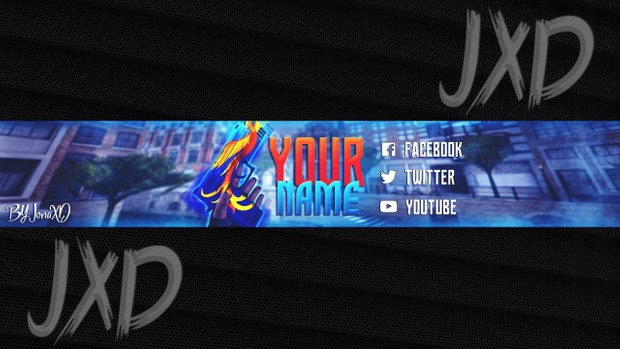 TEMPLATE BANNER YOUTUBE CRITICAL OPS | JonaXD - Sellfy.com