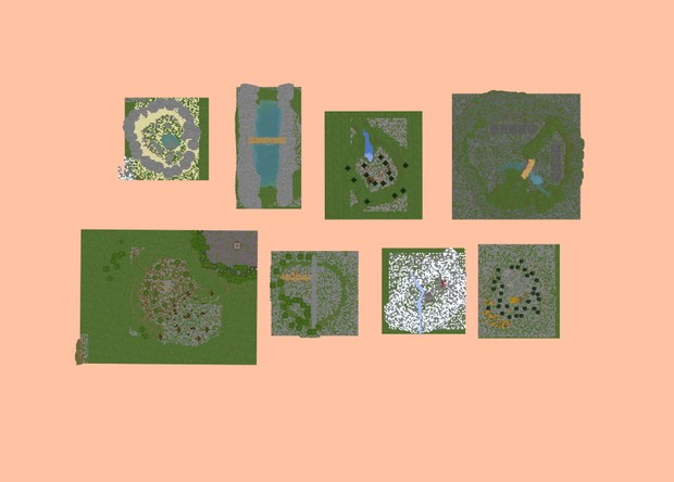 Krefix's Map Pack | Free | 8 Custom made intro maps!