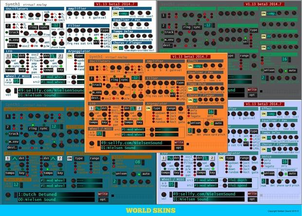 Nielsen EDM Soundset For Synth1 + skins - Nielsen Sound
