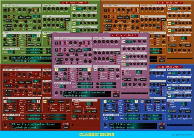 Nielsen EDM Soundset For Synth1 + skins