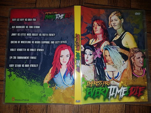 DVD: EVERYTIMEIDIE (UK Only -