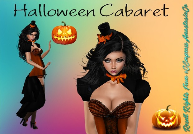 Halloween Cabaret Bundle Resell Rights 0/3 People Limited