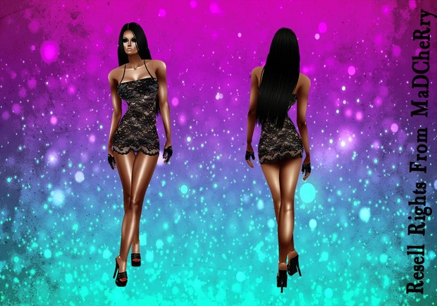 Lace Dress Short Catty Only!!!
