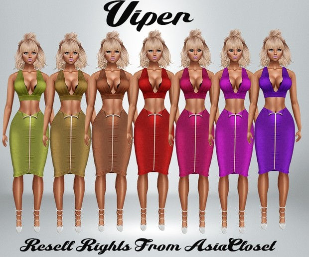 Viper Dress catty Only!!!