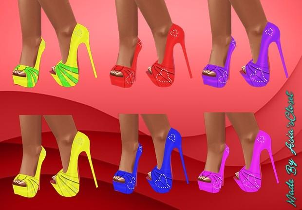 Donna Shoes Plain