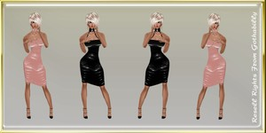 Pink & Black Dresses Catty Only!!!