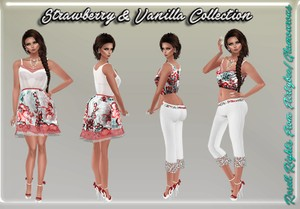 Strawberry & Vanilla Collection Resell Rights!!!