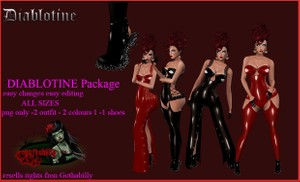 Diablotine Package Catty Only!!!!
