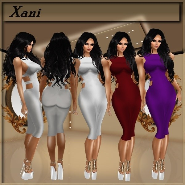 Xani Dresses With Resell Rights