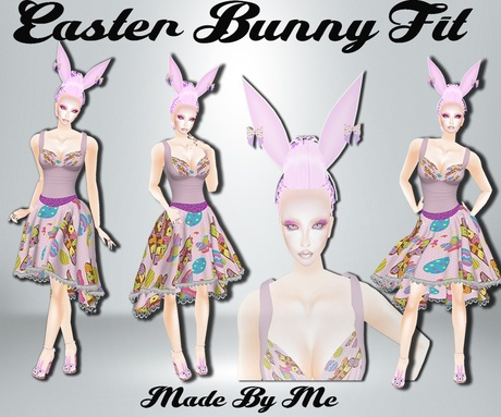 New Easter Bunny Bundle 2018 Catty Only!!!