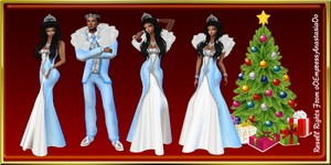 Snow King & Snow Queen Catty Only!!!