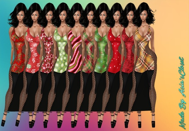 Hottie v2 35 Colors Dresses Resell Rights!!!