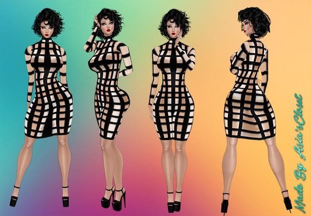Blocked Dresses