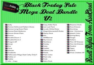 Black Friday Sale Mega Deal Bundle V2 Catty Only!!!