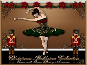 The Christmas Ballerina Collection Catty Only!!!!