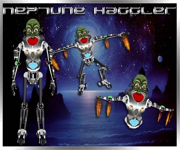 Neptune Haggler Limited Collection Master Resell Rights 0/6 People