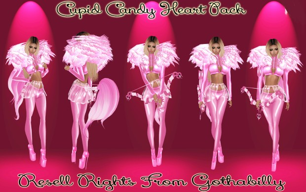 Cupid Candy Heart Pack Catty Only!!!