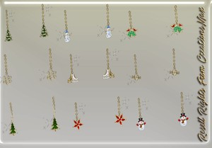 22 Pairs Of Exclusive Christmas Earrings (Catty Only) 0/10 People