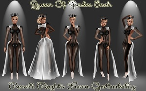 Queen Of Spades Catty Only!!!