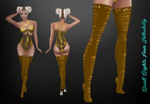 Gold Shadows Pack v2 Catty Only!!!