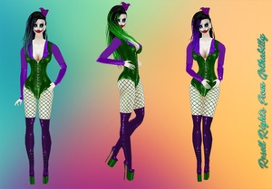 Joker Latex Bundle Package Catty Only!!!!