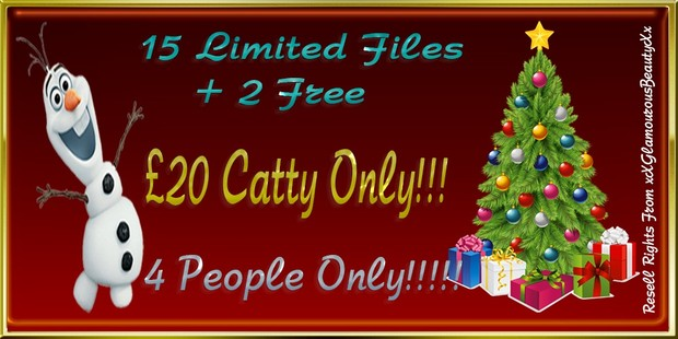 15 Limited Files + 2 Free Bundle Catty Only!!!!