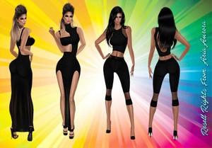Black Dress & Outfit Bundle